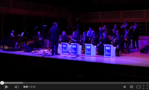 08 The Sonoma State University Jazz Orchestra performance